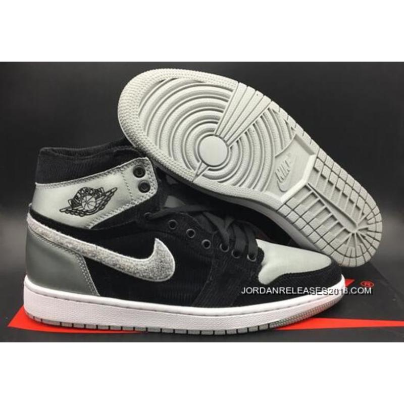 "2018 New Style Air Jordan 1 Retro High ""Aleali May"" Black Shadow Grey ... 9f87584a6"