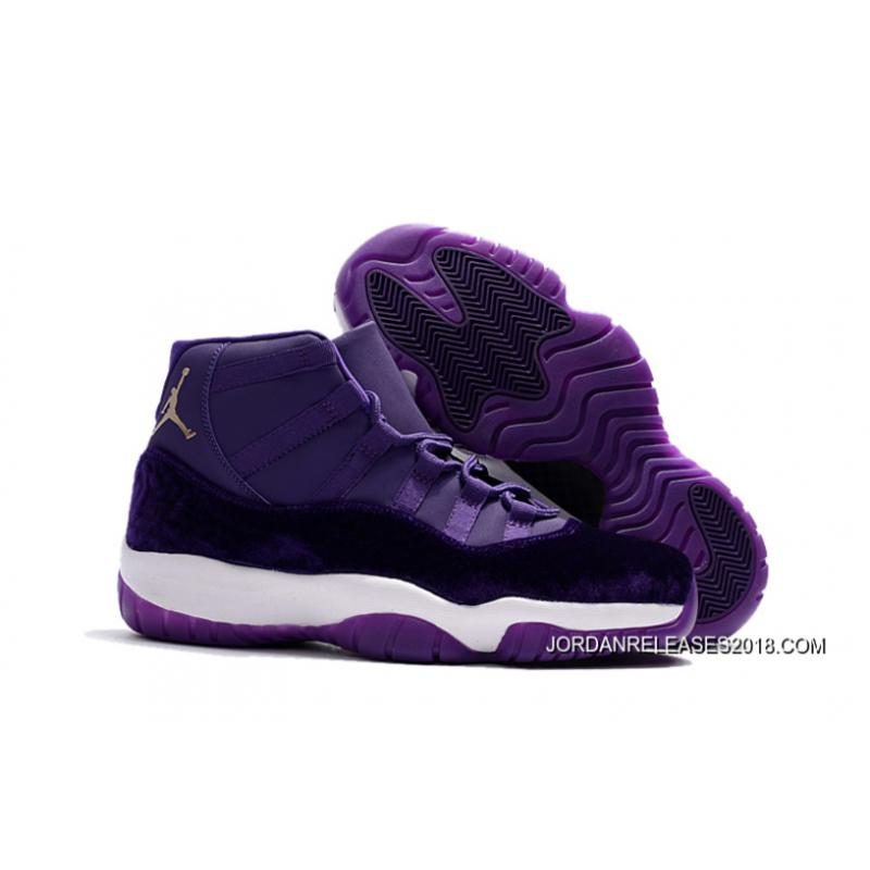 "2018 Super Deals Air Jordan 11 ""Purple Velvet"" ..."