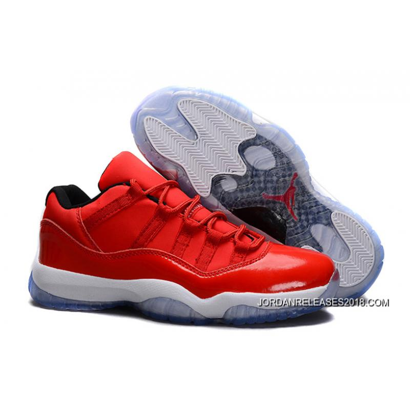"super popular 4ead0 ca09d 2018 For Sale New Air Jordan 11 Retro Low ""Red"" PE Carmelo Anthony Red ..."