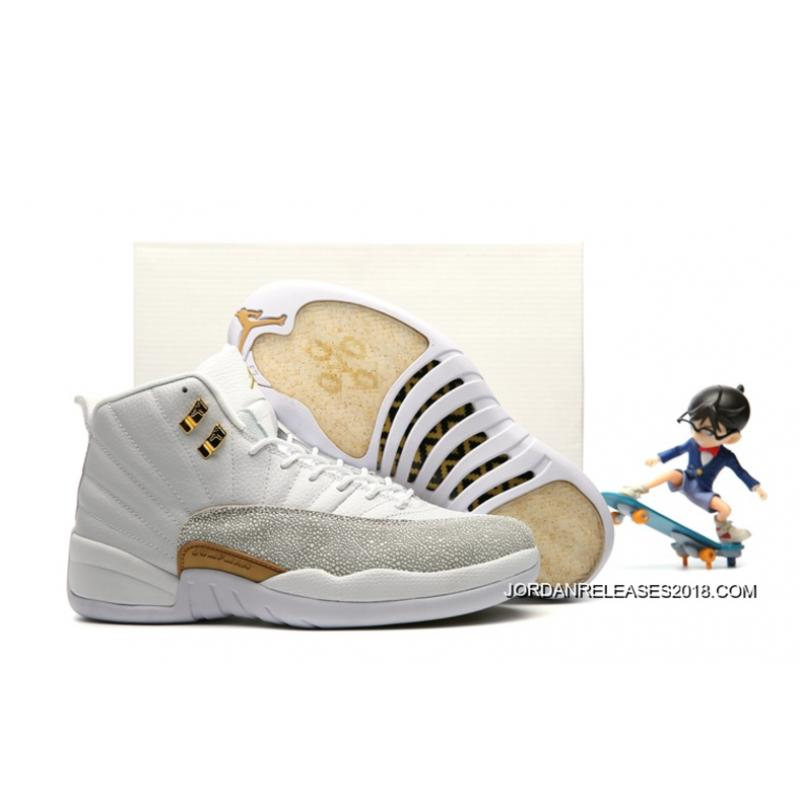 "2018 For Sale New Air Jordan 12 ""OVO"" White ..."
