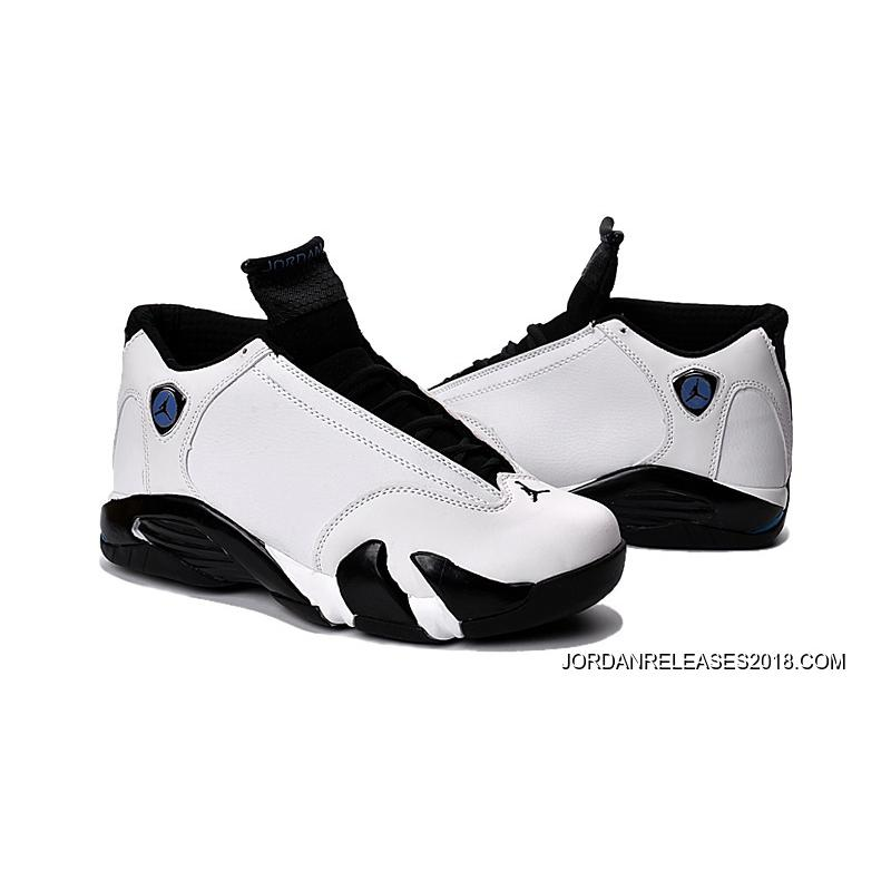 New Air Jordan 14 WhiteBlackOxidized Green Copuon