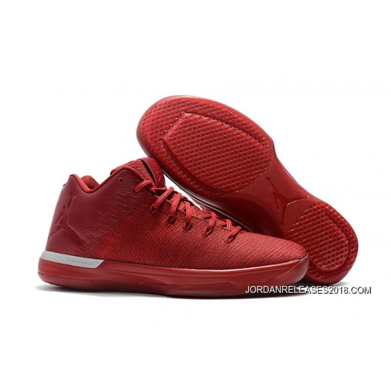 2018 Air Jordan 31 Low Gym Red Chicago Away New Year Deals