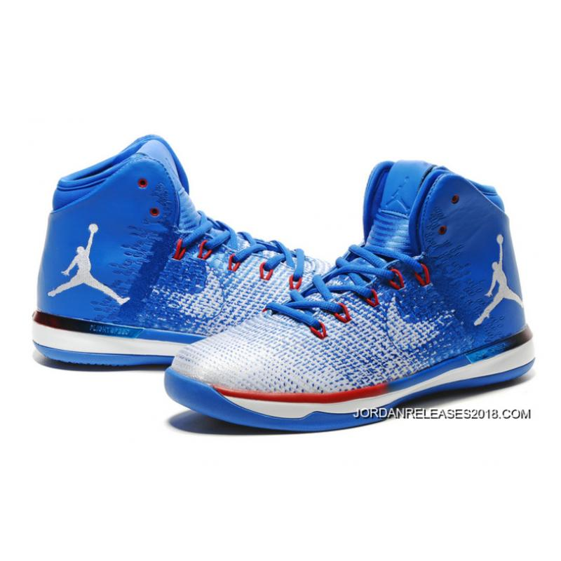 969f87fcd0213b Air Jordan XXXI  Olympics  USA Deep Royal Blue White University Red 2018  Online