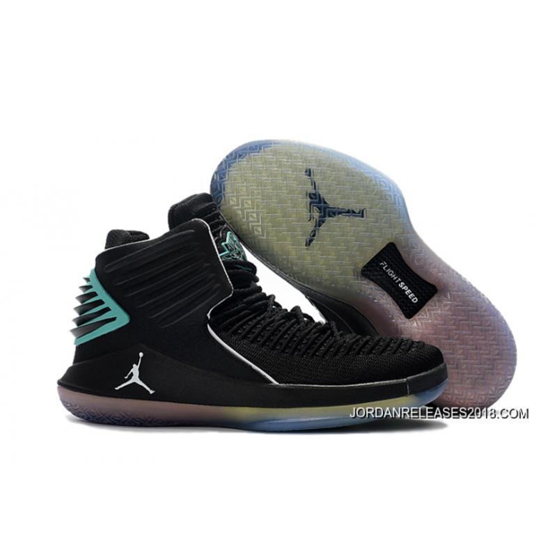 Air Jordan XXX2 BlackHyper Jade-White 2018 New Release ...