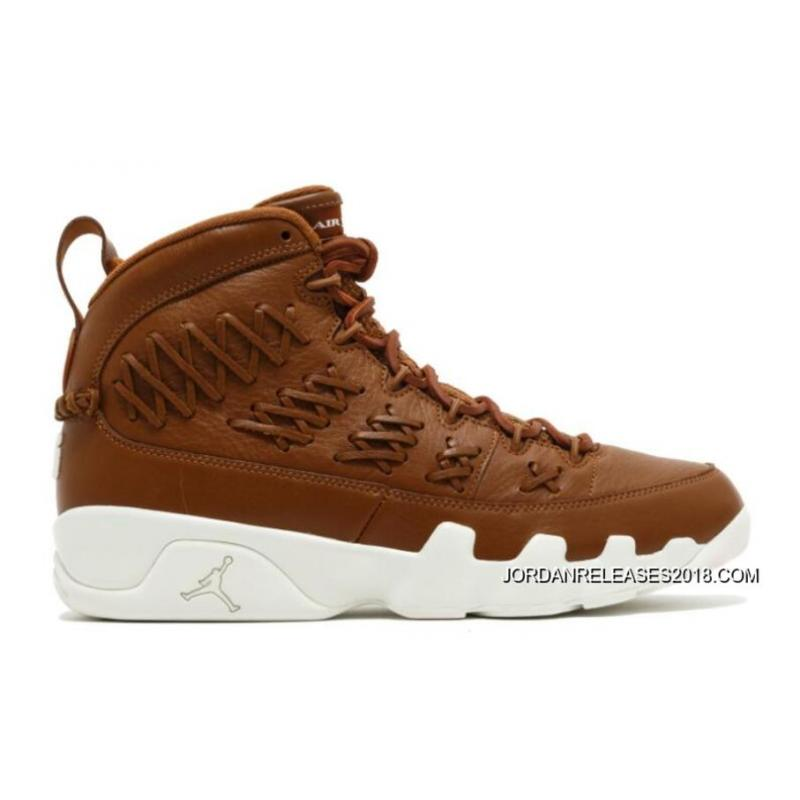 "cheap for discount 0dce4 50fce 2018 Latest Air Jordan 9 ""Baseball"" Brown Leather"