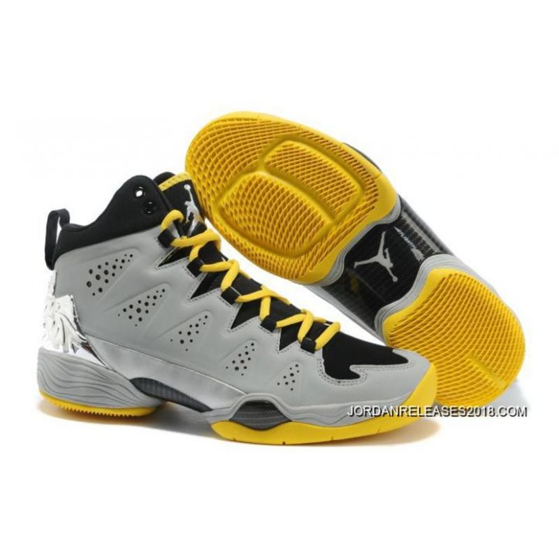 5003585b780d New Jordan Melo M10 Metallic Silver Black Volt For Sale ...