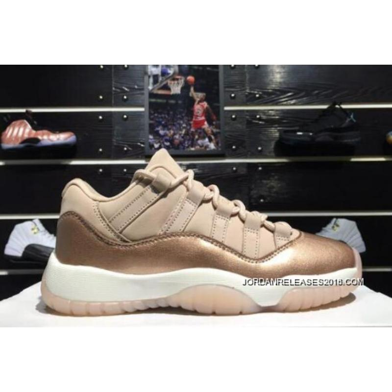 "pretty nice f0867 f9ba9 For Sale Air Jordan 11 Low ""Rose Gold"" Sail Metallic Red Bronze- ..."