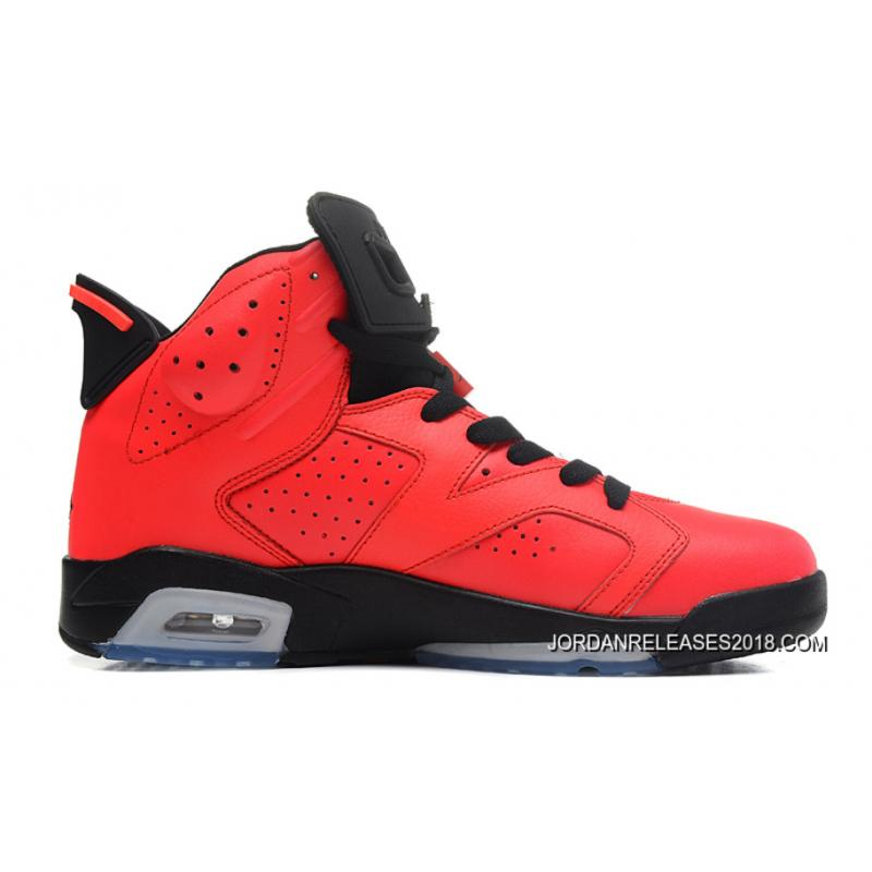 f6bb77067259f1 2018 New Style New Air Jordan 6 Retro Infrared 23 Black-Infrared 23 ...