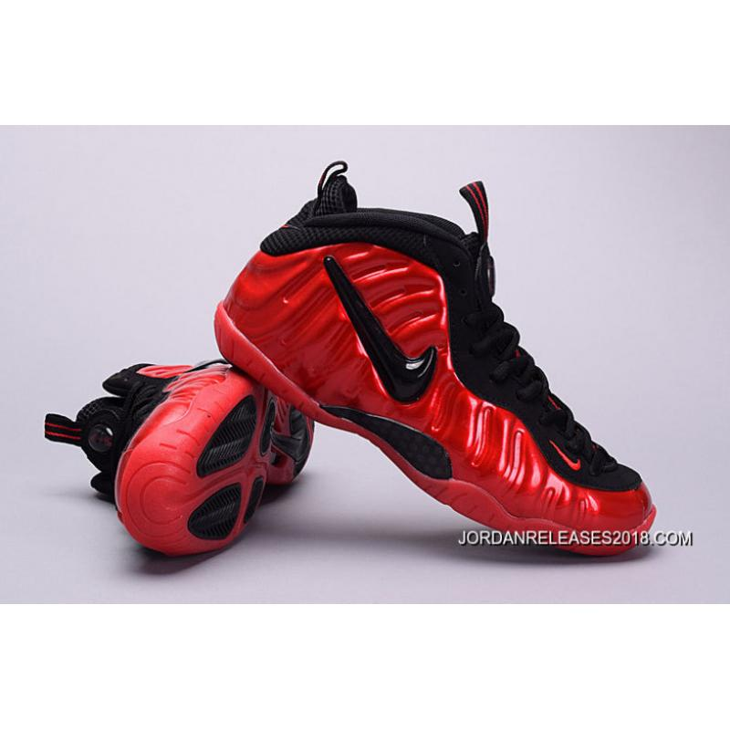 quality design a1463 eaf38 ... switzerland girls nike air foamposite pro gs varsity red black best  96ff2 bb3a0