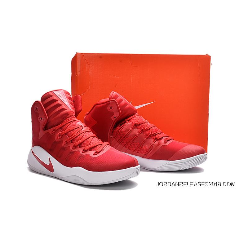 check out 255b5 4ae04 ... Nike Hyperdunk 2016 GS University Red White University Red Discount