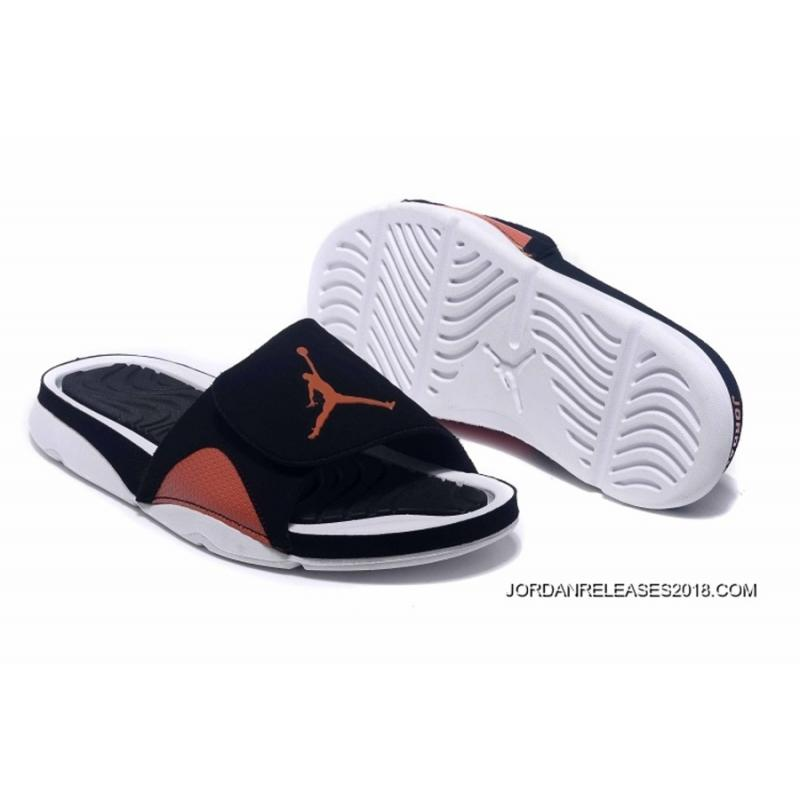 0bc83aceea284a Air Jordan Hydro IV Retro Black Orange White 2018 Top Deals ...