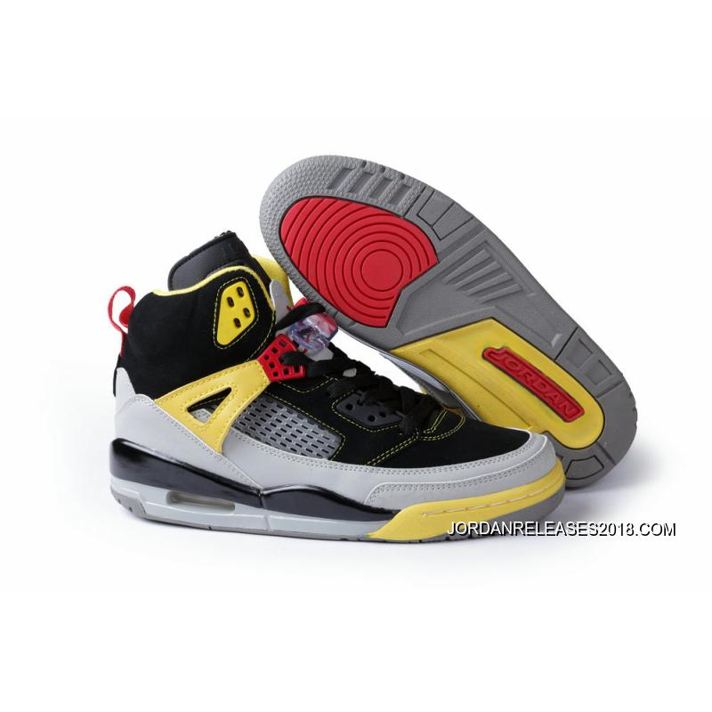 "New Jordan Spizike ""3M"" Black Challenge Red-Metallic Silver-Tour Yellow ... b28777b89"