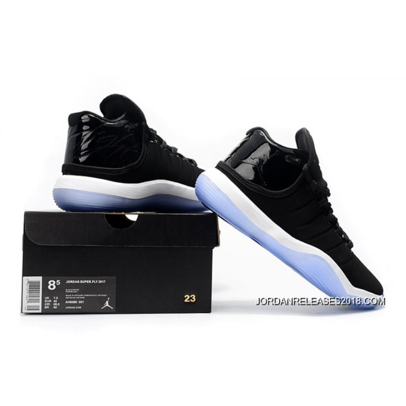 "da6cc579c0a Jordan Super.Fly 2017 ""Space Jam"" Black/Cool Grey-White-Concord 2018 ..."