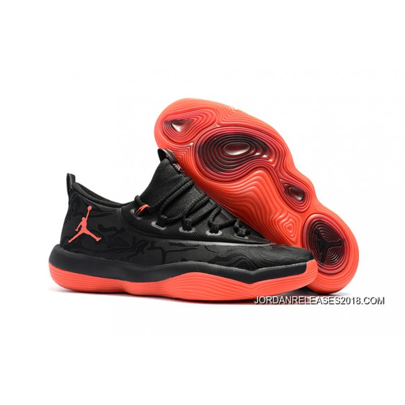 "b4ec02019c6cb1 Jordan Super.Fly 2017 Low ""Infrared 23″ Black Red 2018 Online ..."