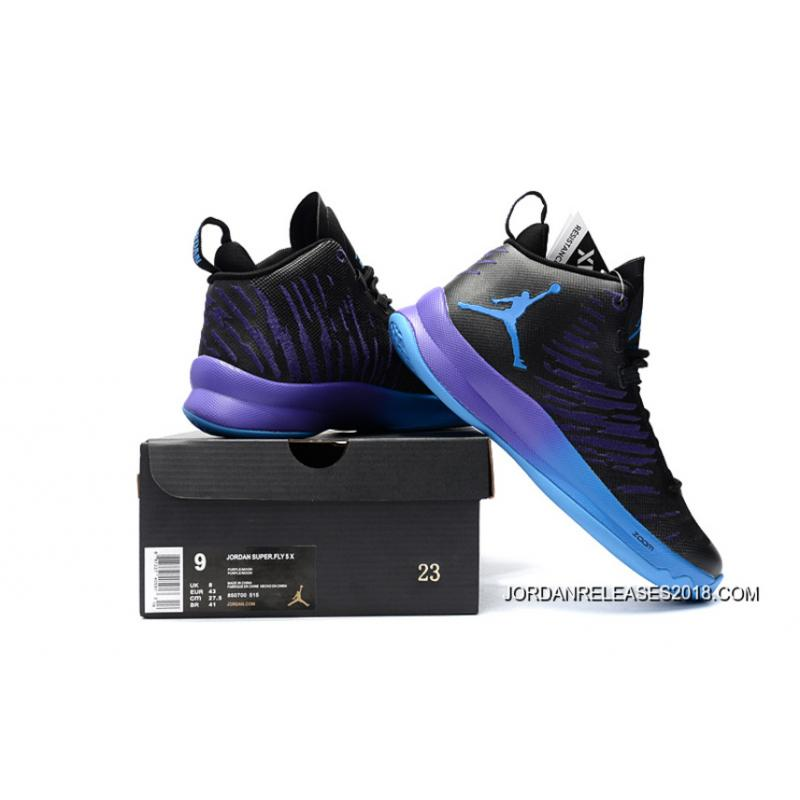 "78bc9d44a6f2 ... 2018 New Release New Jordan Super.Fly 5 X ""Black Grape"" ..."