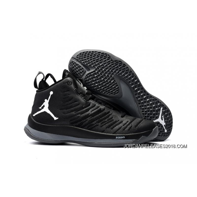 sale retailer 58a18 0f239 2018 New Style New Jordan Super.Fly 5 X Black/White