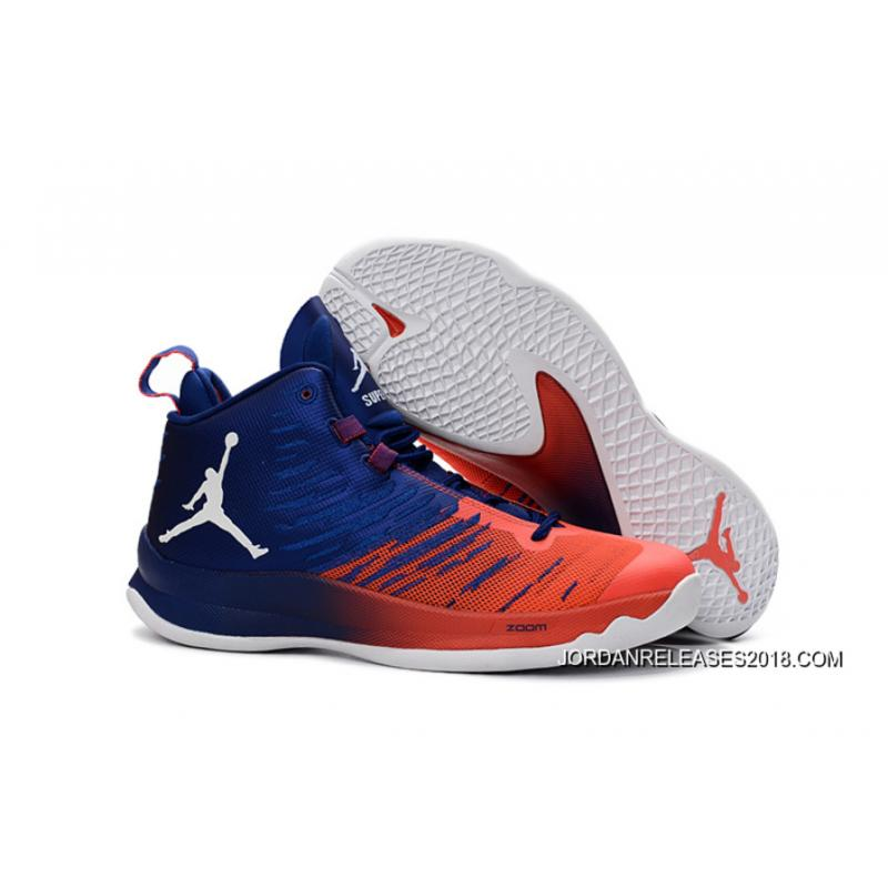 Nike Jordan SuperFly 5 Deep Royal BlueInfrared 23White New Year Deals