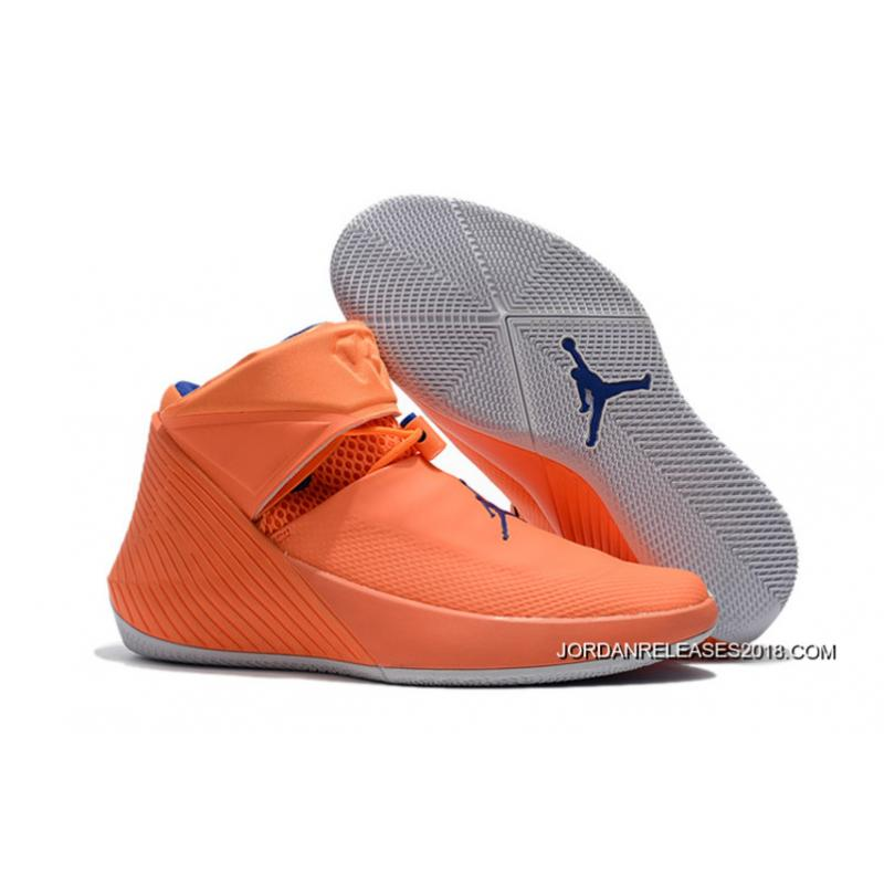 New Cheap Jordan Why Not Zer0.1 Russell Westbrook Orange Pulse/Hyper Royal-Sail