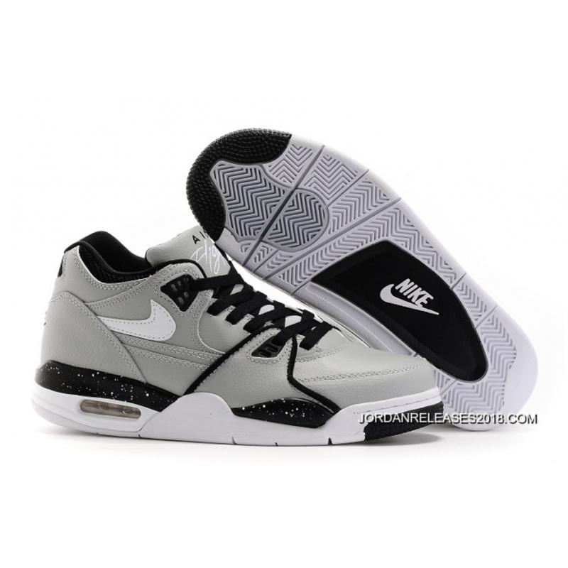 reputable site ee7f0 d7cb0 ... release date 2018 copuon nike air flight 89 wolf grey black white shoes  308a6 21d89