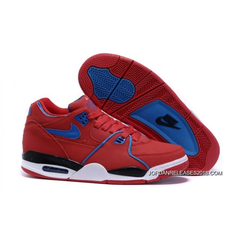 Nike Air Flight  89 University Red Game Royal Sports Basketball Shoes 2018  Online ... 360776862