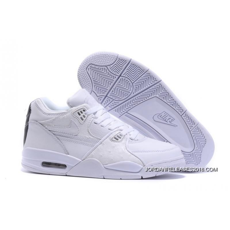 timeless design eec12 9fe11 Nike Air Flight 89 WhiteWhite-White Shoes 2018 New Release ...