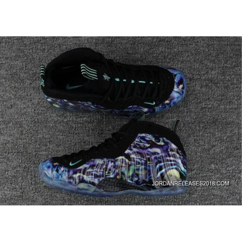 """size 40 2f23e a6772 2018 New Style Nike Air Foamposite One PRM """"Abalone"""" Multi-Color ..."""