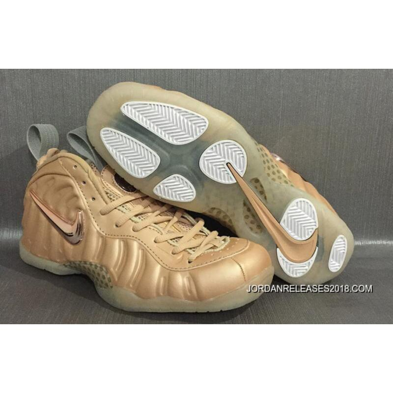 Nike Air Foamposite Pro Vachetta Tan And Rose GoldSail Outlet