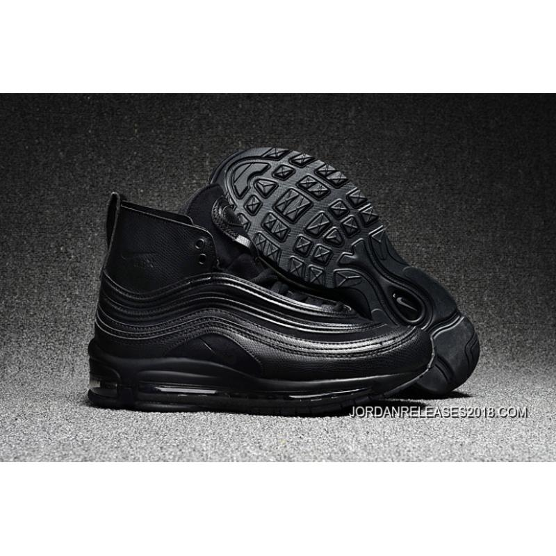 Nike Nikelab Coming Out Air Max 97 Mid x Riccardo Really Cool Tisci All Great Black
