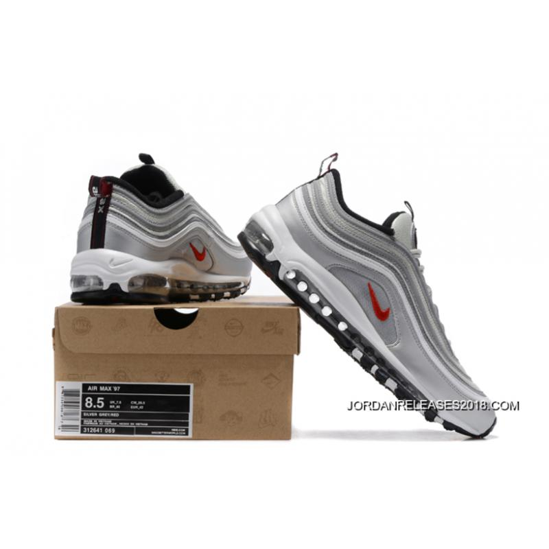 "new style 32c67 100c0 ... 2018 Discount Nike Air Max 97 OG QS ""Silver Bullet"""