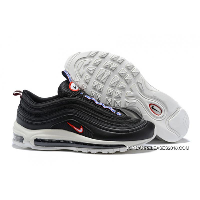 "efbe68c04a275 Nike Air Max 97 ""Pull Tab"" Black White-Gym Red Best ..."