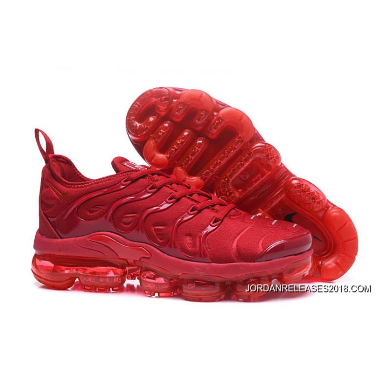 Nike Air VaporMax Plus All Red 2018 Outlet ...