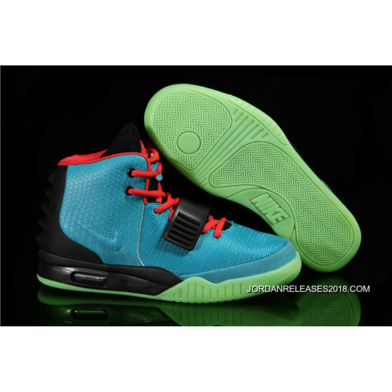 """... Nike Air Yeezy 2 """"South Beach"""" Glow In The Dark Sole Outlet"""