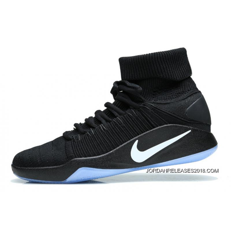 "official photos 8dc7a 348a8 2018 Online Nike Hyperdunk 2016 Flyknit ""Triple Black"""