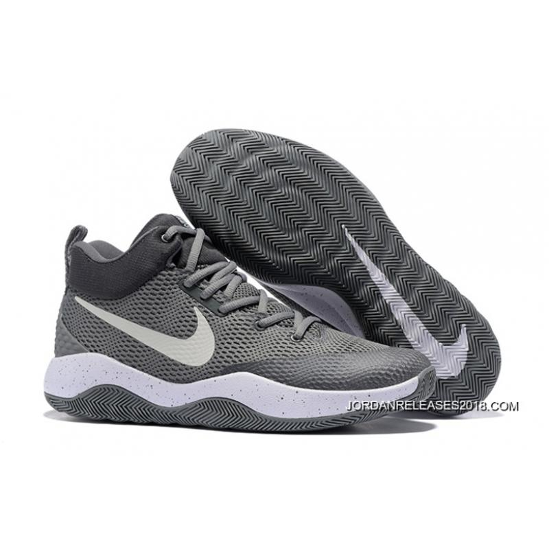 """a208b1aa8b3ad4 Nike Hyperrev 2017 """"Grey White"""" 2018 Outlet ..."""