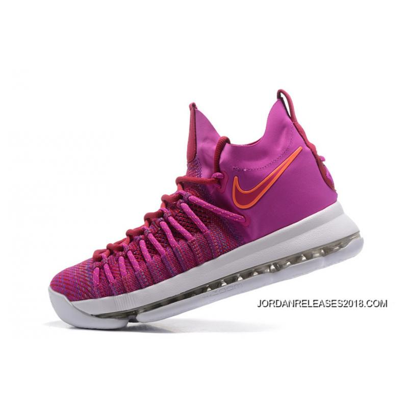 "... 2018 Top Deals Nike Zoom KD 9 Elite ""Racer Pink"" ..."