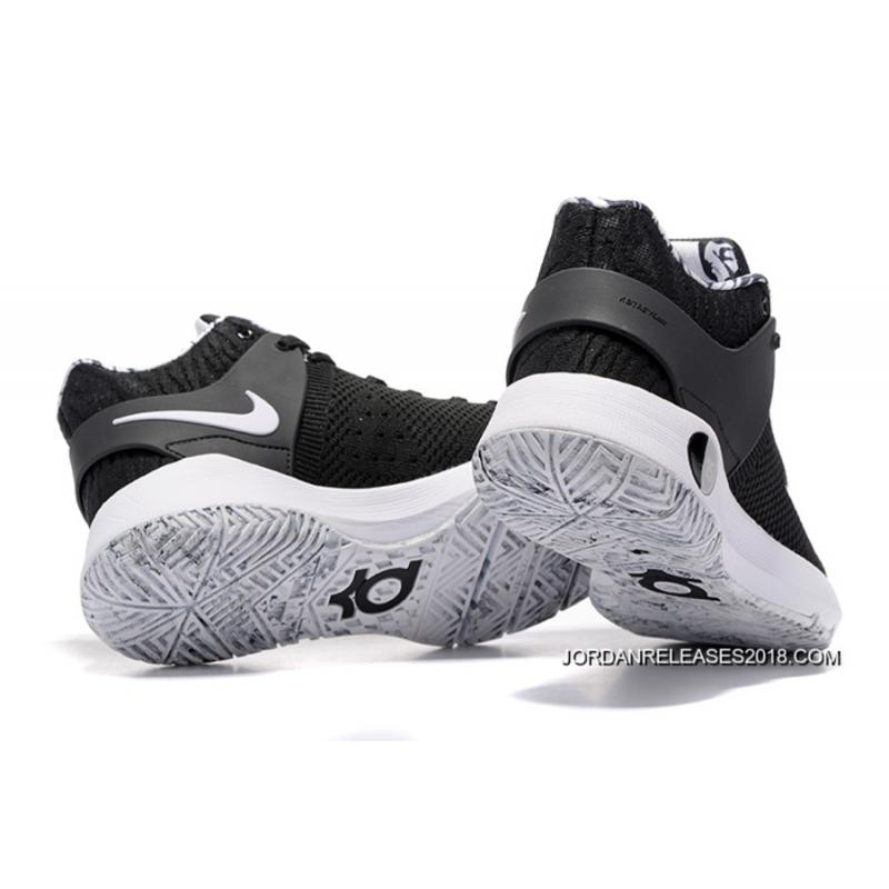 "6b30ab4417e1 2018 Super Deals Nike KD Trey 5 Knit ""BHM"" Black White ..."