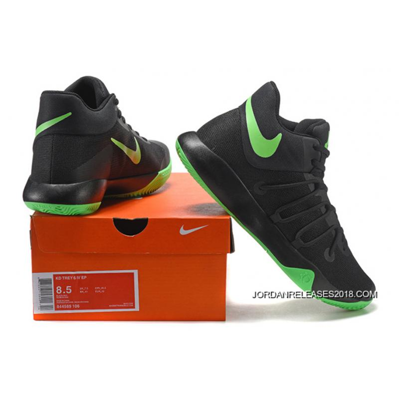 dad12c88c176 ... 2018 New Release Nike KD Trey 6 Black Green Basketball Shoes