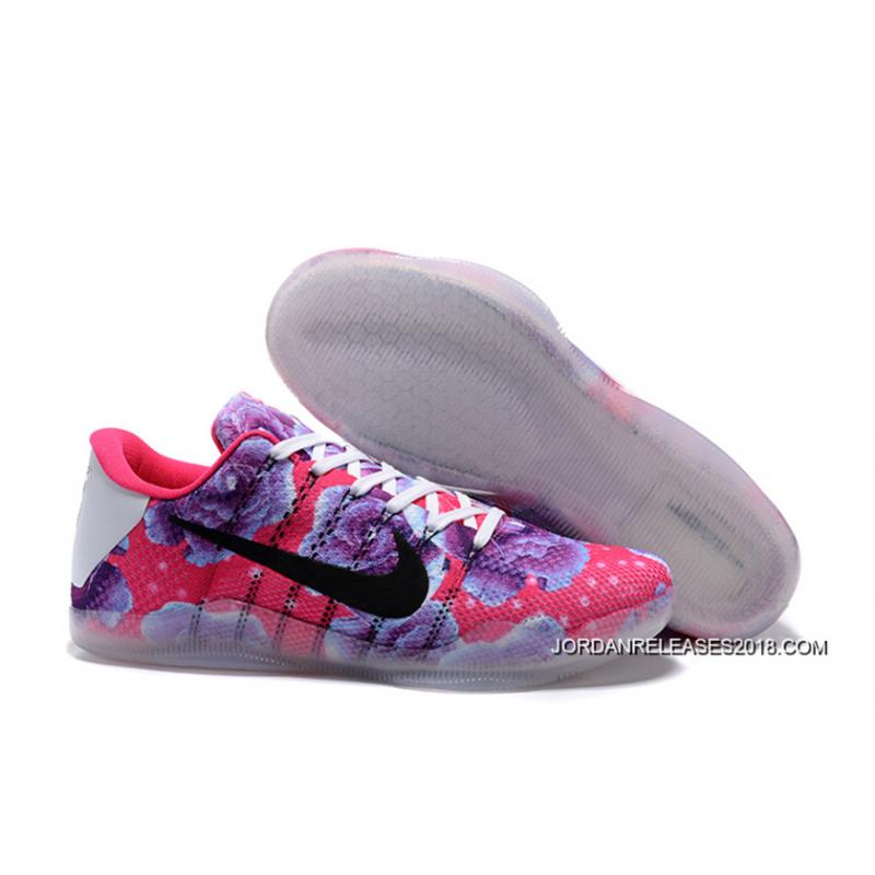 "purchase cheap 4ad3b 56e41 Nike Kobe 11 ""Aunt Pearl"" Vivid Pink Black-Hyper Turquoise Top Deals ..."