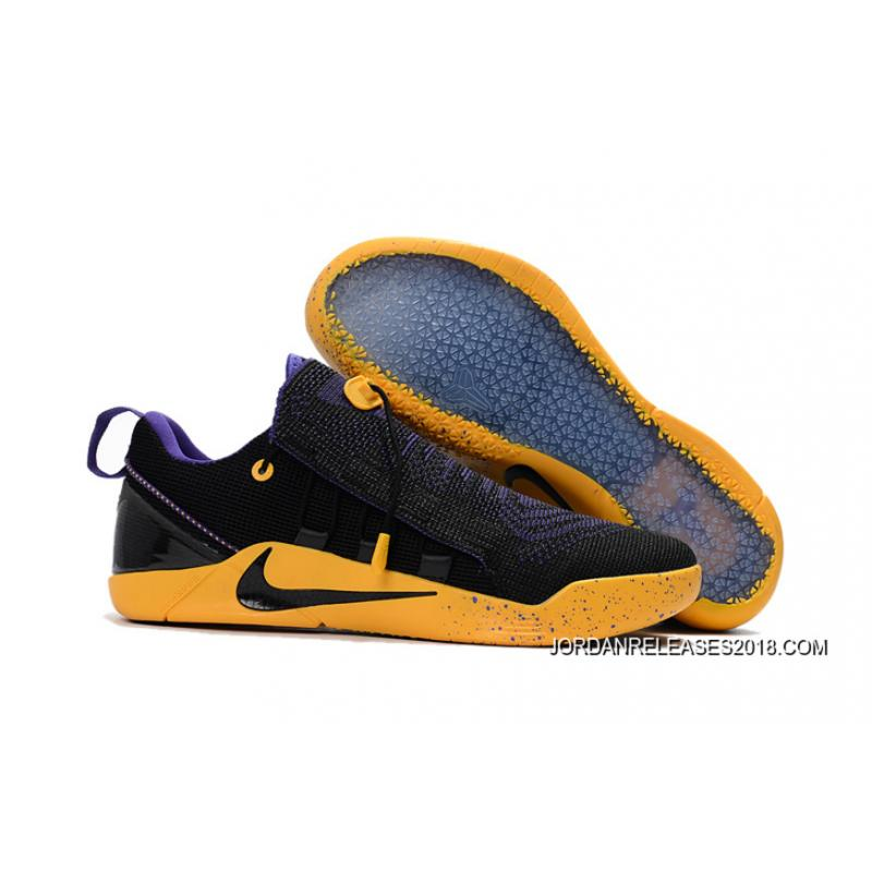 best deals on 1e855 6fcf5 sale 2018 best nike kobe a.d. nxt black purple yellow 66503 f6422