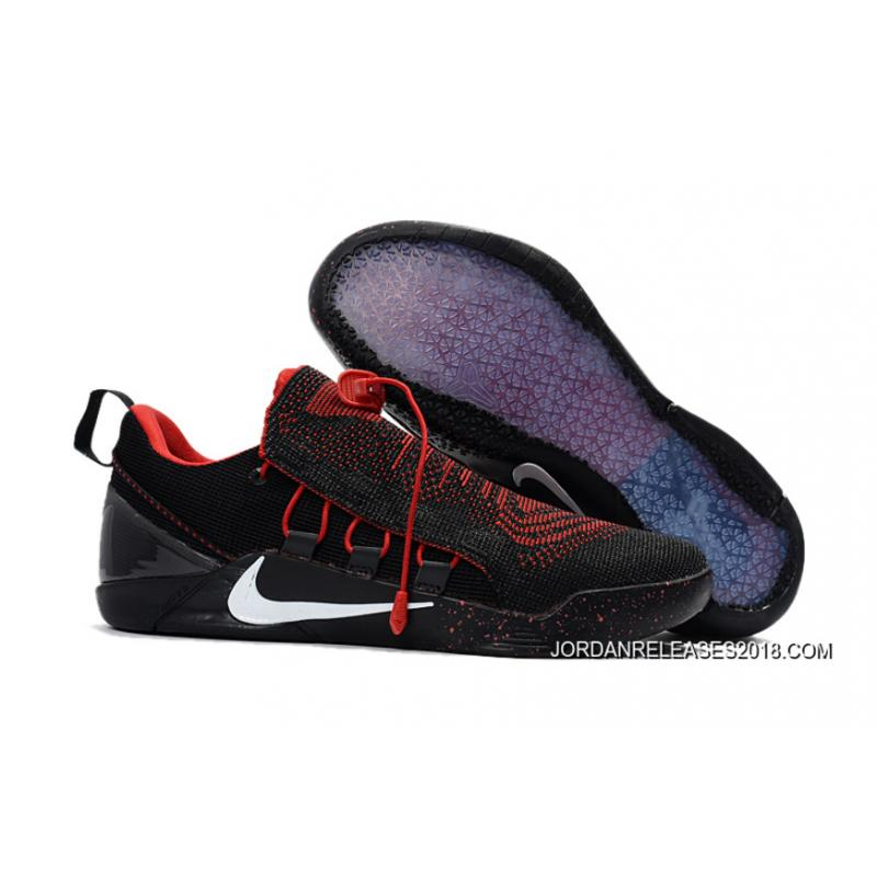 5191d98a89be 2018 Discount Nike Kobe A.D. NXT Black Red ...