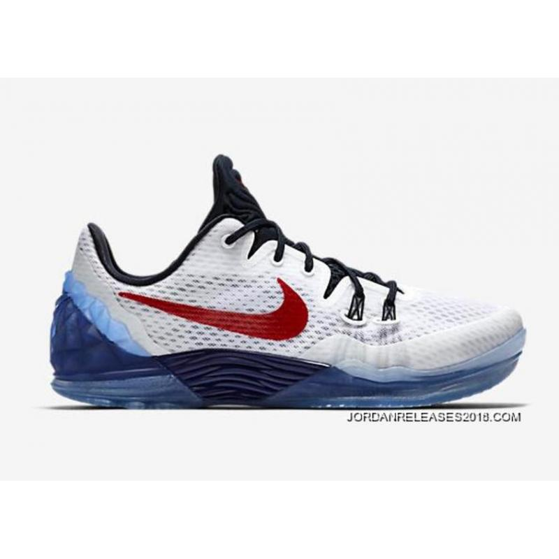 Nike Kobe Venomenon 5 USA White/Team Red-Midnight Navy