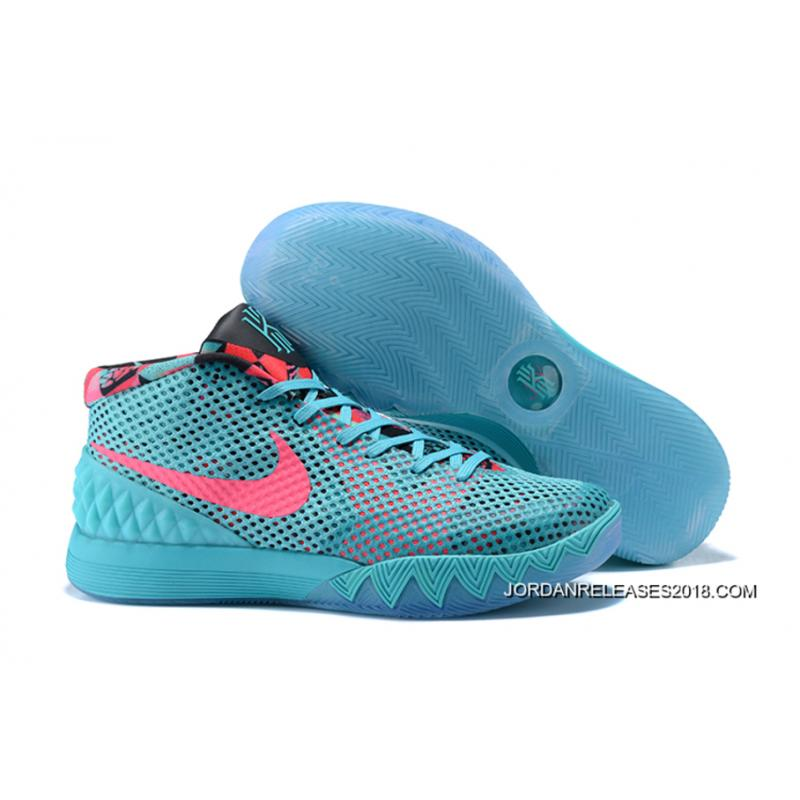"""97423107071c Nike Kyrie 1 """"Christmas"""" PE Turquoise Teal Hyper Pink New Year Deals ..."""