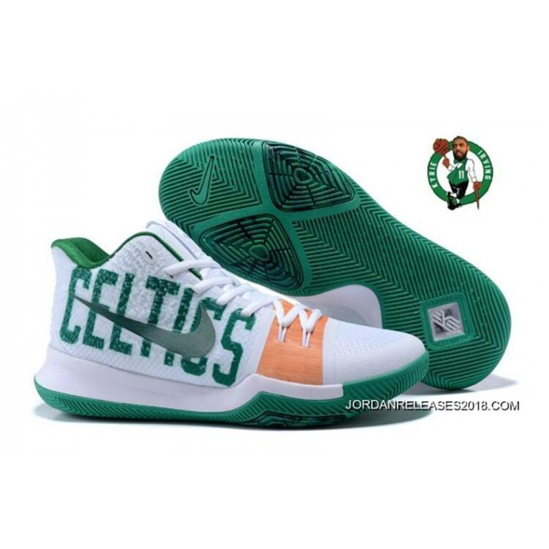 50df8c002d8c ... authentic oem kyrie 3 celtics white green discount 4ae0d d2bf3