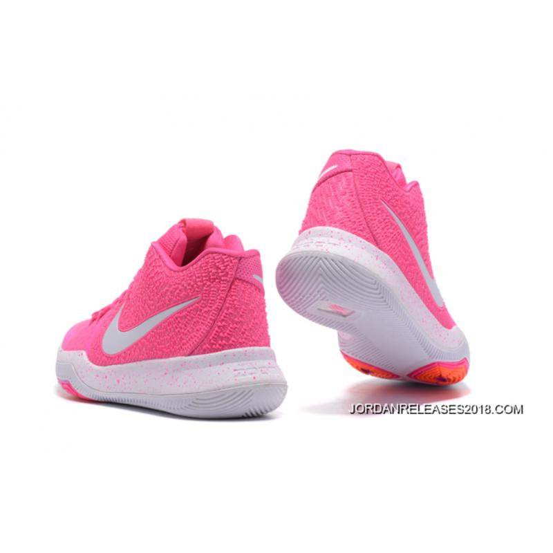 2018 Nike Kyrie 3 Vivid Pink White Outlet
