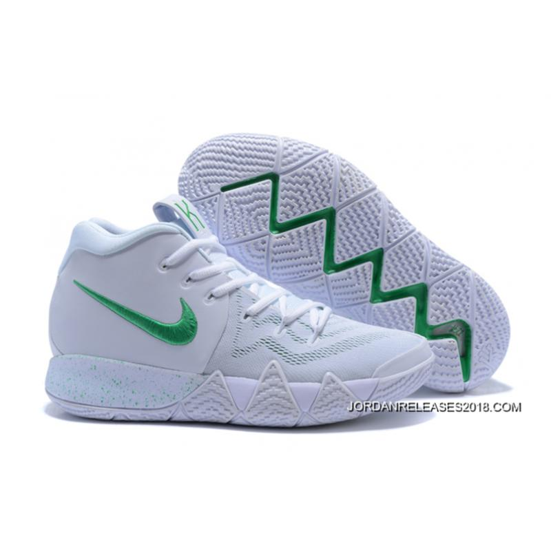 2018 Top Deals Nike Kyrie 4 White/Green ...