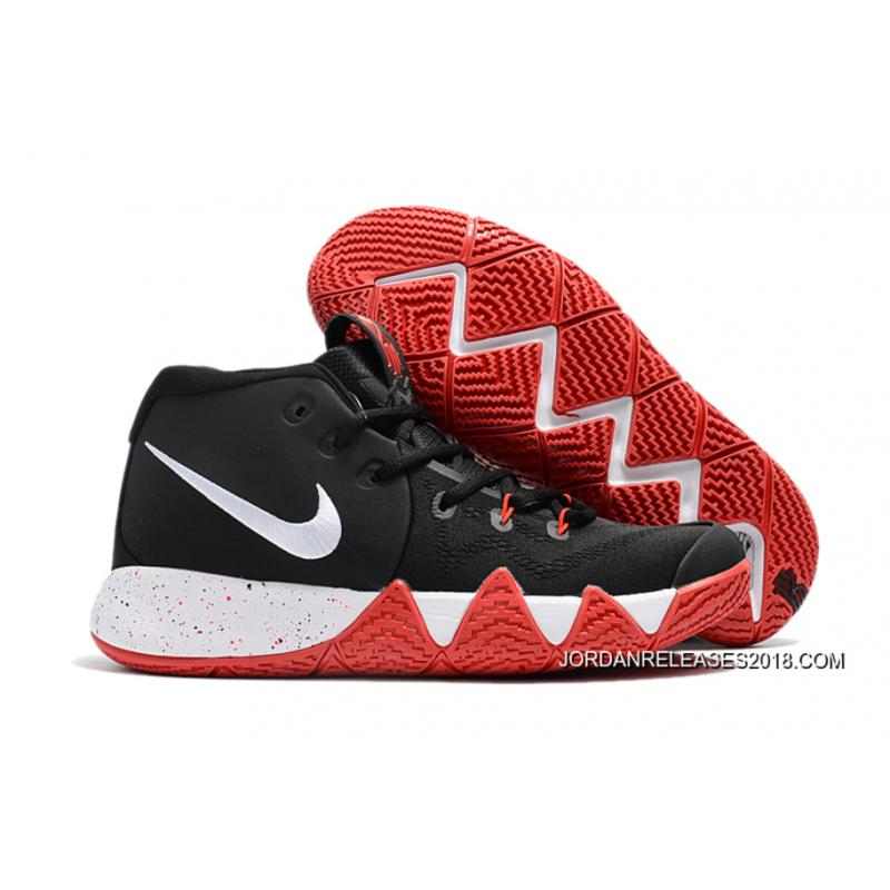 Nike Kyrie 4 Red Black Free Shipping