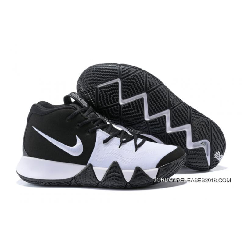 "Nike Kyrie 4 ""Oreo"" BlackWhite New Year Deals, Price"