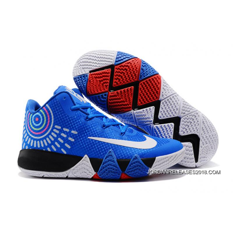Nike Kyrie 4 Royal Blue/White 2018 New Release ...