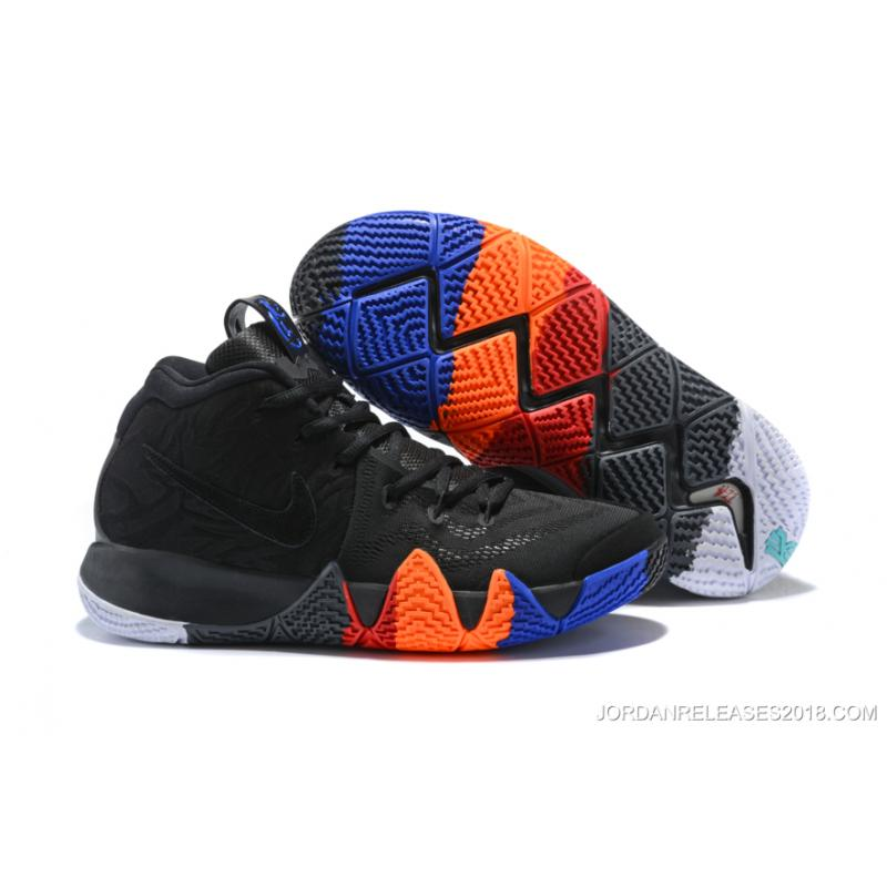 """f0f543b2abd Discount Nike Kyrie 4 """"Year Of The Monkey"""" Anthracite Black ..."""
