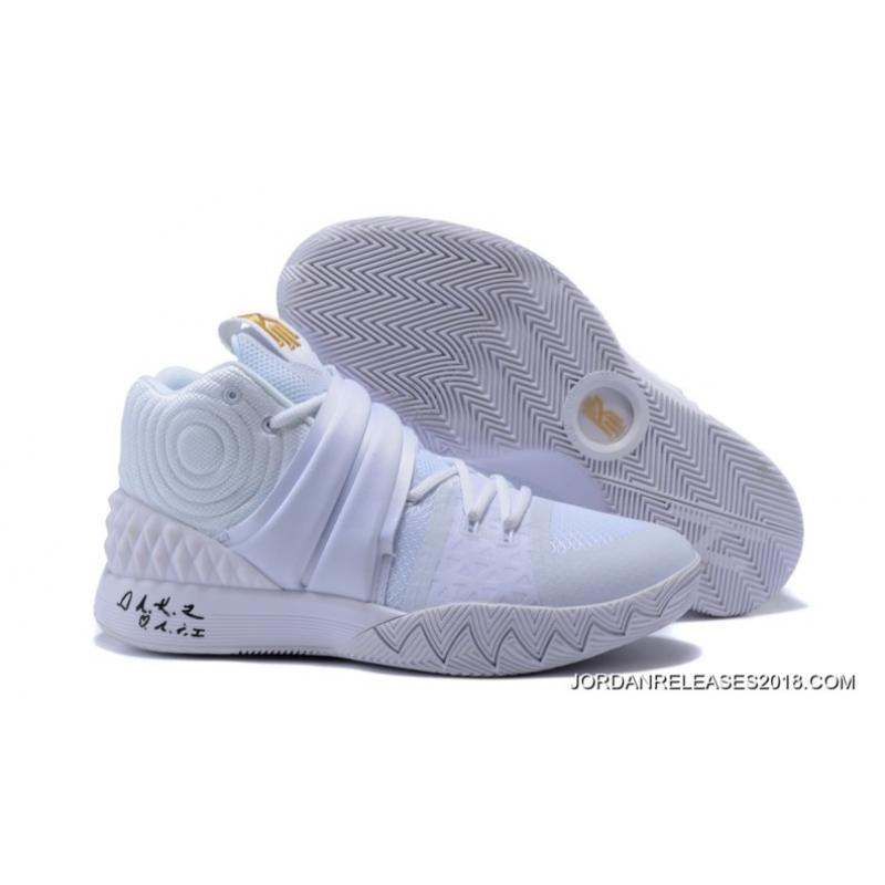 Cheap Nike Kyrie S1Hybrid Triple White For Sale Super Deals